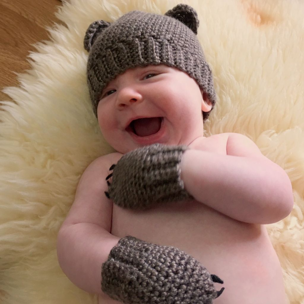 736f158c6bb Baby Bear Hat - Free Crochet Pattern - love. life. yarn.