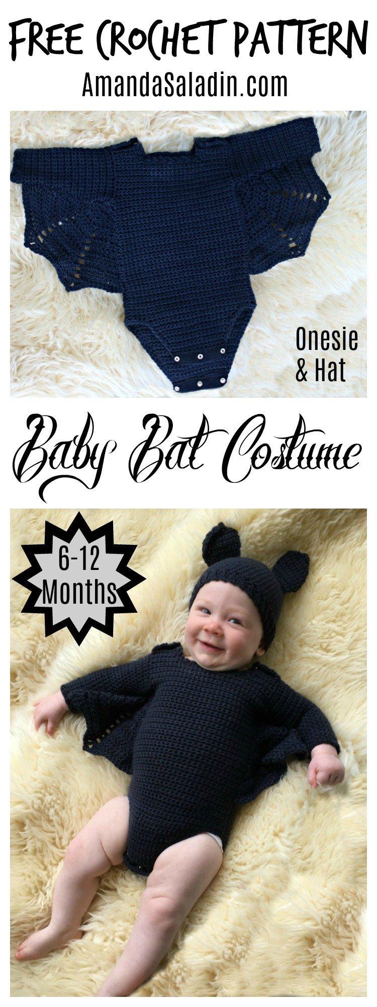 Baby Bat Costume Free Crochet Pattern Love Life Yarn