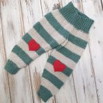 Striped Baby Pants - Free Knitting Pattern