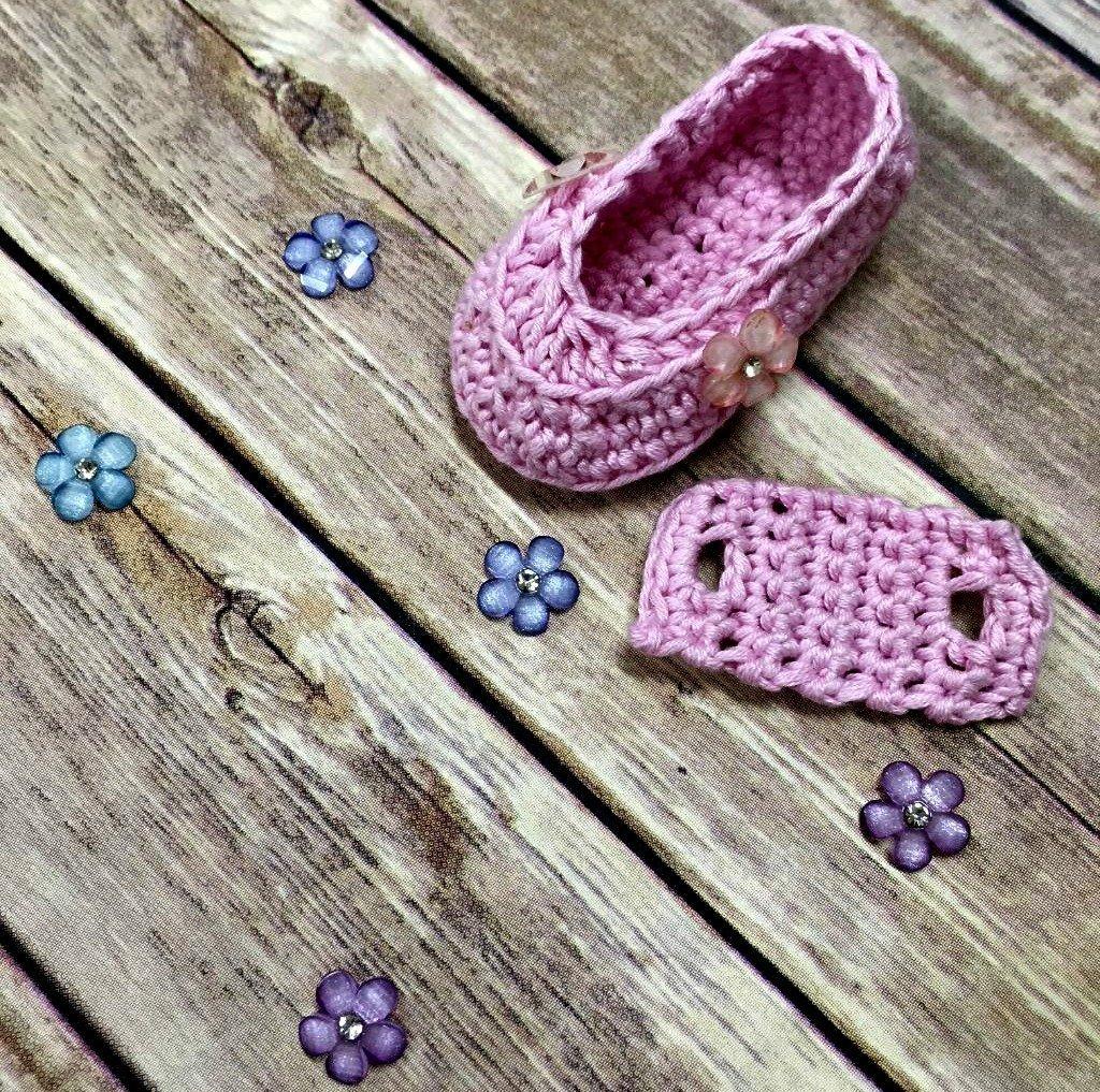 Double Button Loafers - Free Crochet Pattern