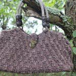 Oat Stitch Handbag - Free Knitting Pattern