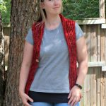 colors of fall vest - free crochet pattern