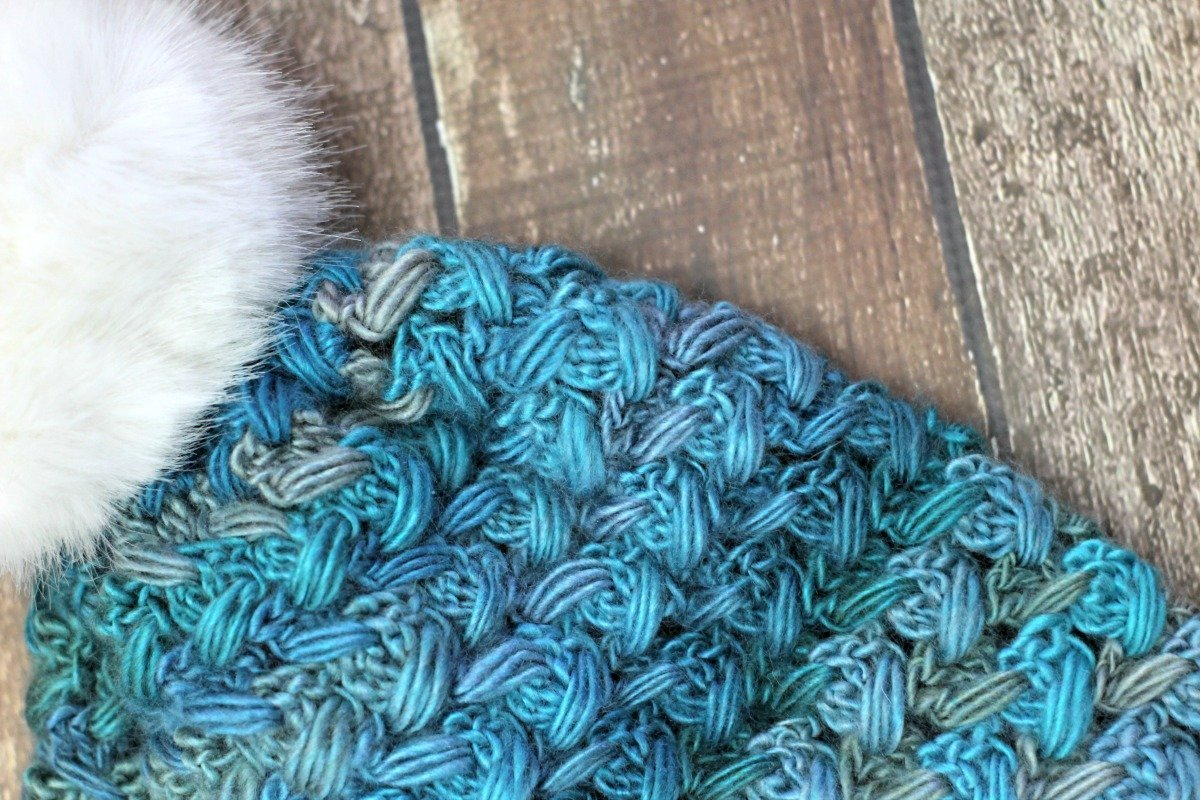 Puff Stitch Slouch- Free Crochet Pattern