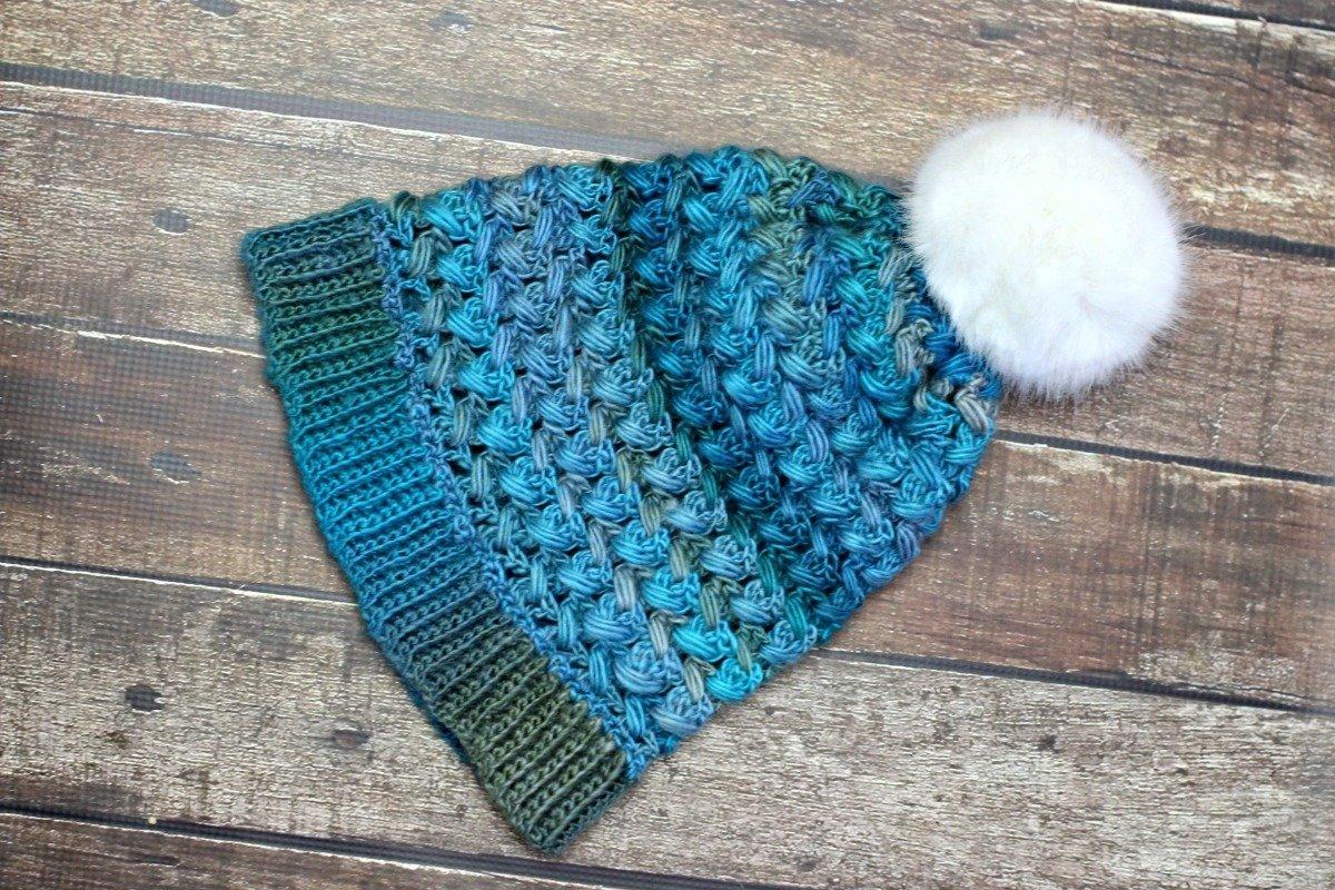 Puff Stitch Slouch - Free Crochet Pattern