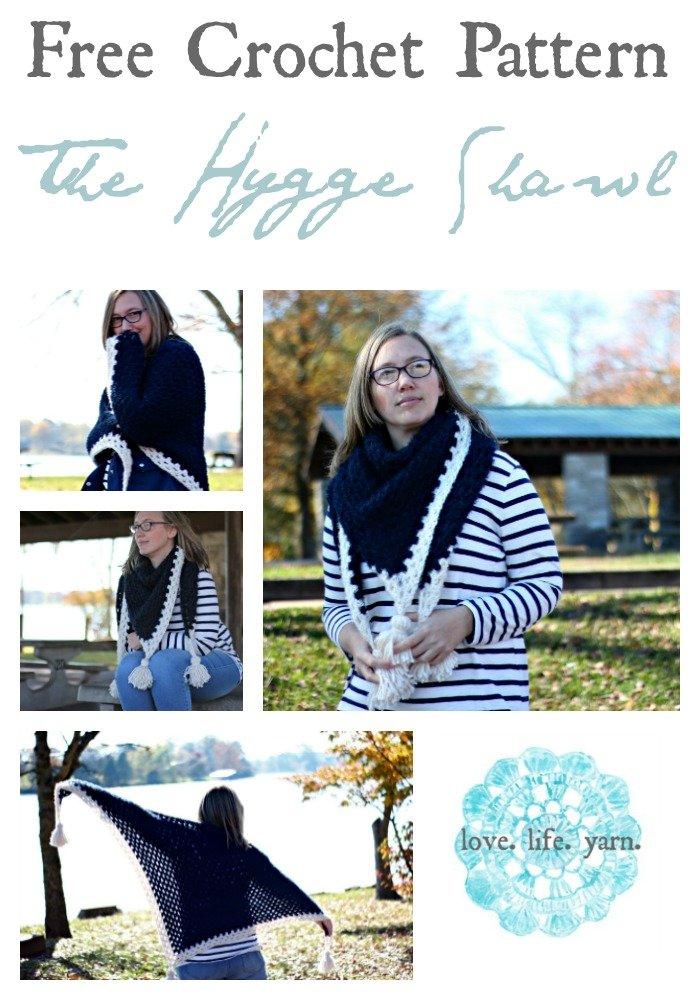 The Hygge Shawl - Free Crochet Pattern