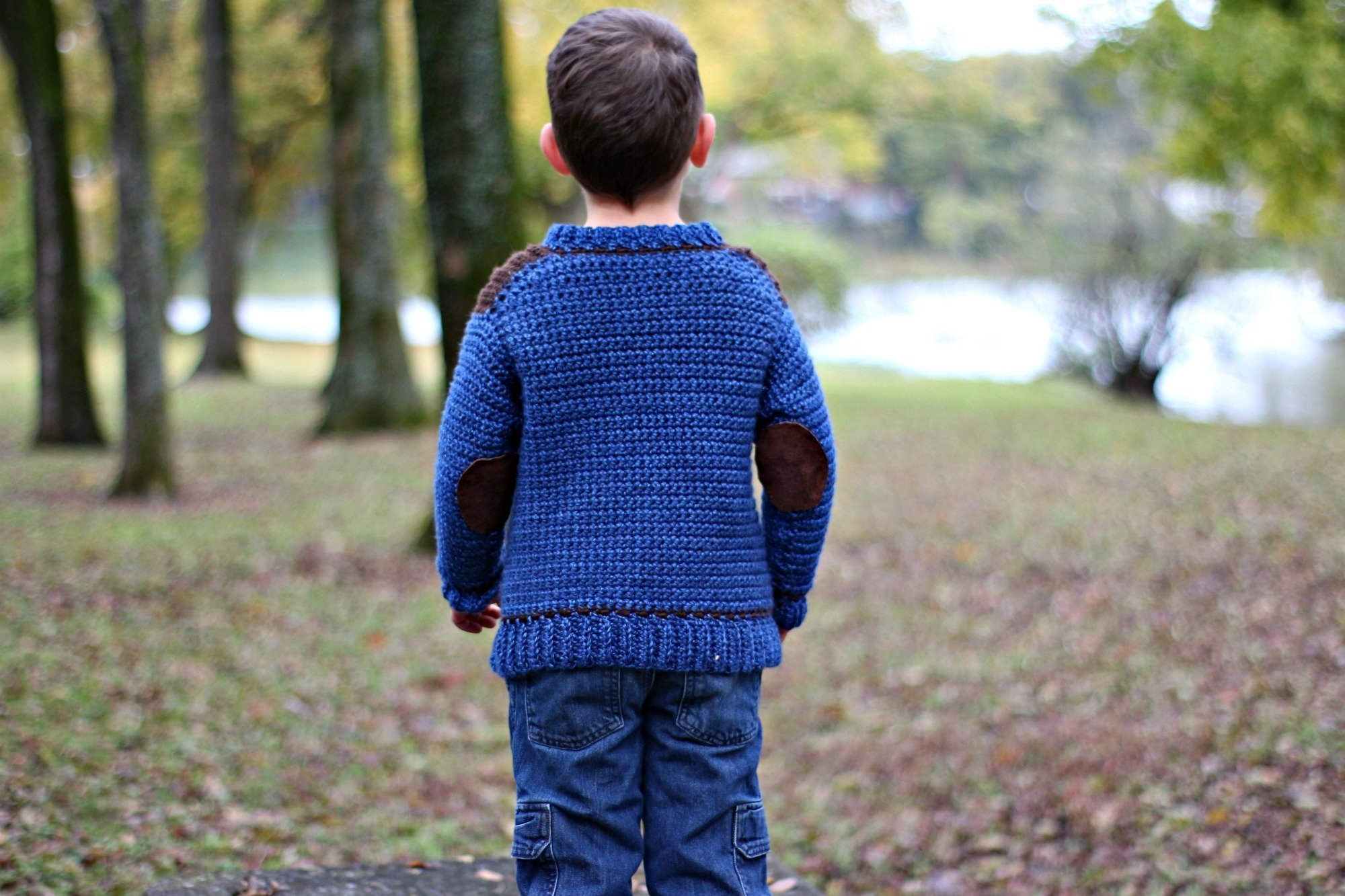 Kid's Saddle Shoulder Sweater - Free Crochet Pattern