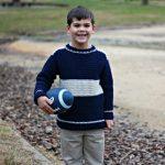 Free Crochet Pattern - Varsity Sweater