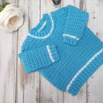 Baby Ribbed Shoulder Sweater