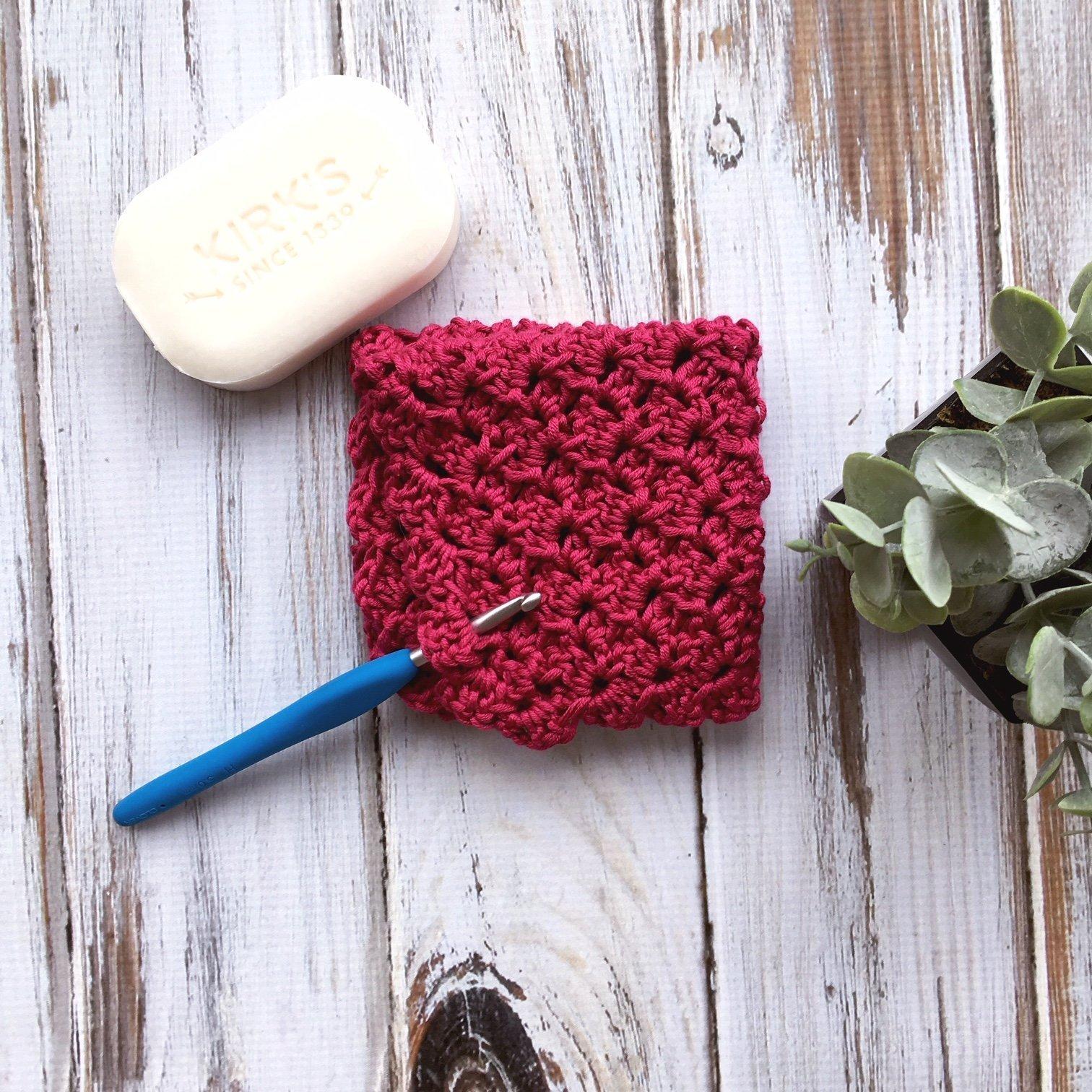 Free Crochet Pattern - Duchess Lace Wash Cloth