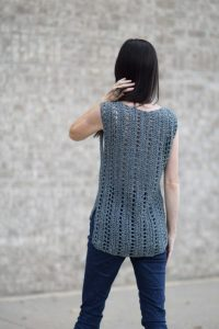 Vintage Easy Crochet Top Mama in a Stitch Free Pattern