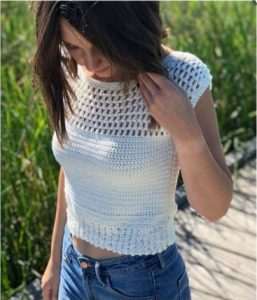 Townsville Top free crochet pattern