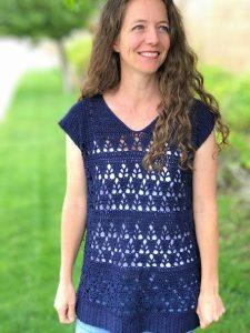 Lunar Llace Tunic - Free Crochet Pattern