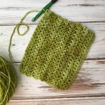 This close up video tutorial will walk you step by step through how to crochet the herringbone half double crochet stitch.