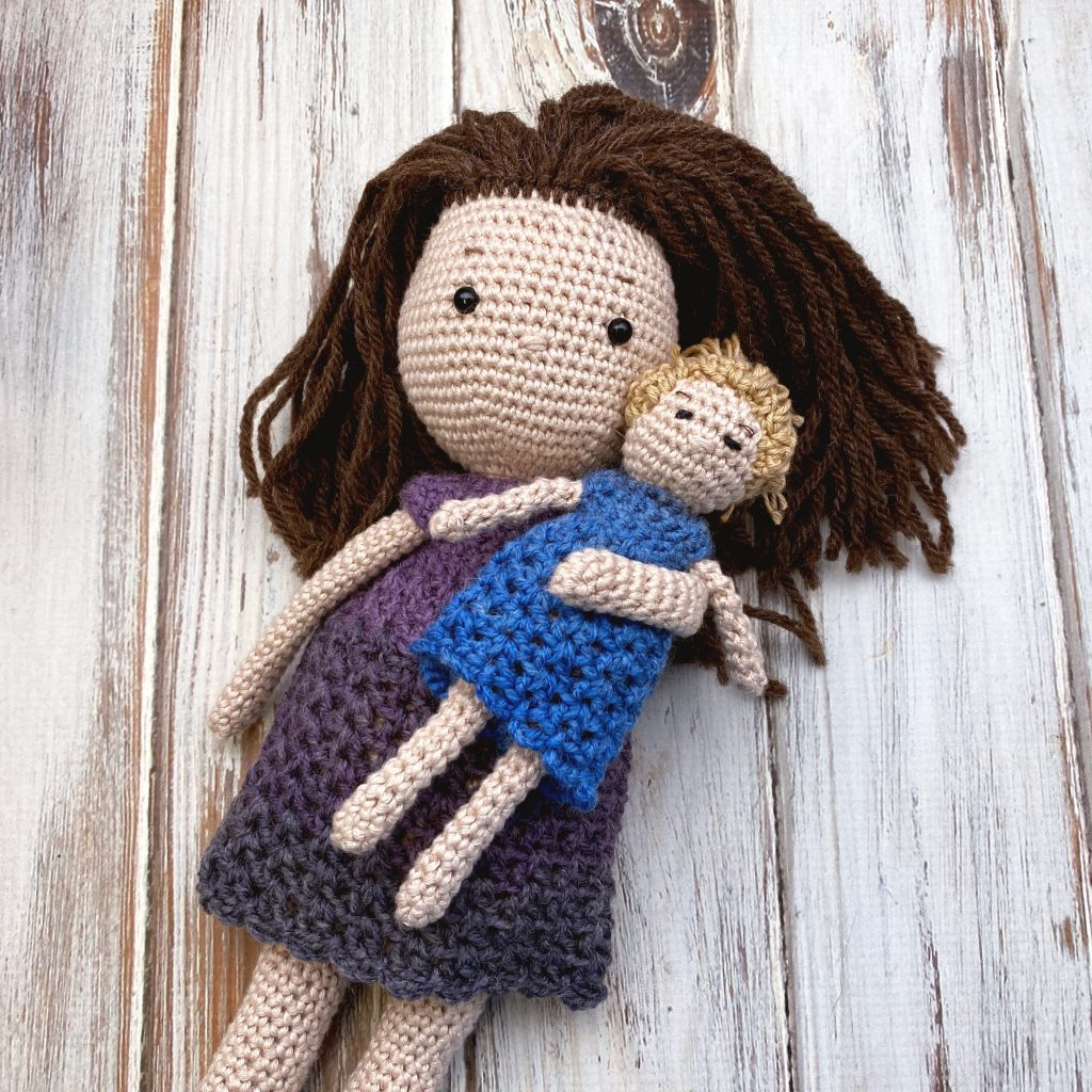 Free CAL!  Morgan Crochet Doll