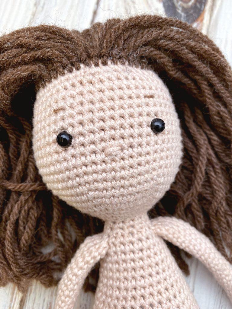 Little doll crochet / Miniature doll crochet /Part 1 / Legs and ...   1024x768