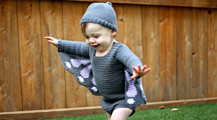 Baby Butterfly Costume - Free Crochet Pattern