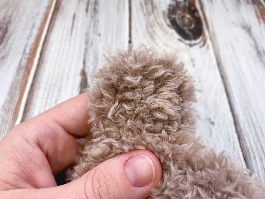 crochet baby hat ear