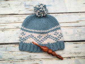 Free Crochet Pattern - Fair Isle Baby Hat