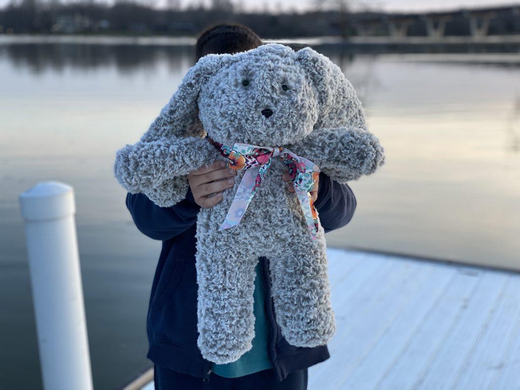 Lop Eared Crochet Bunny - Free Crochet Pattern