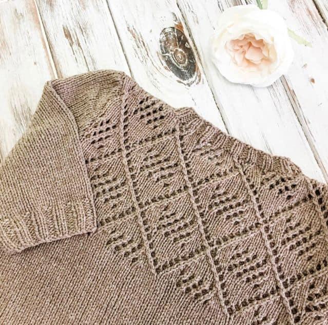 Knit Tee Pattern Flat Lay Photo
