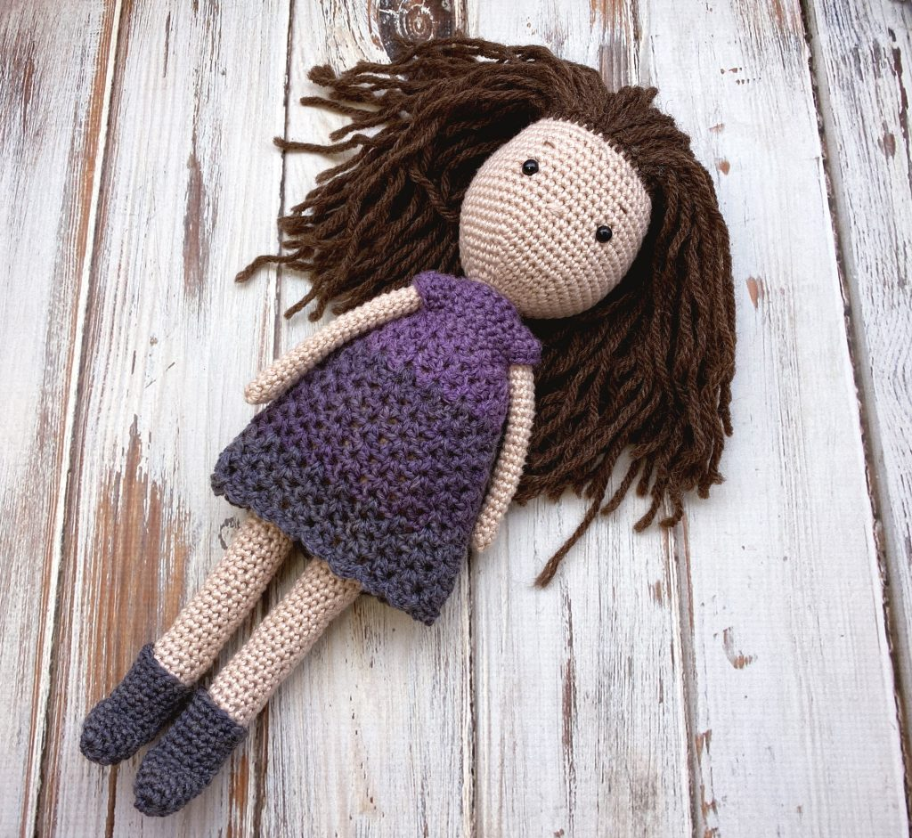 morgan crochet doll