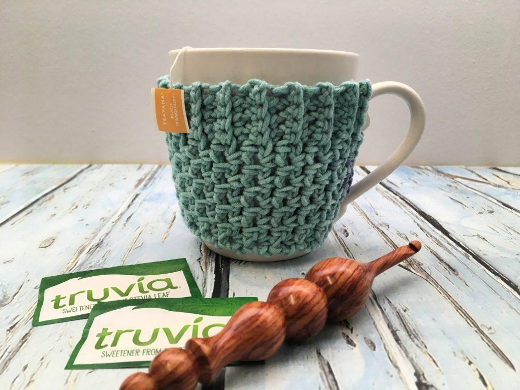 Super Bulky Crochet Mug Cozy Love Life Yarn