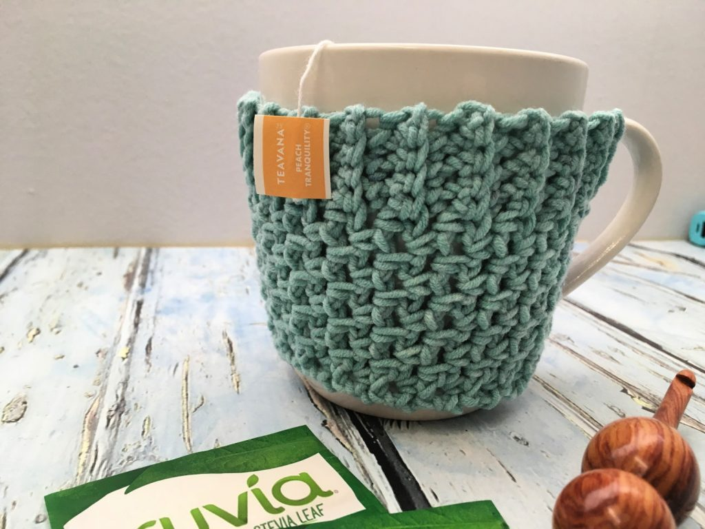 Free Crochet Pattern - Quick and Easy Mug Cozy