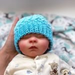 Ombre Baby Hat