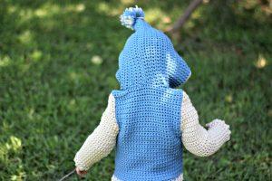 Free Crochet Pattern - Penguin Pal Hoodie