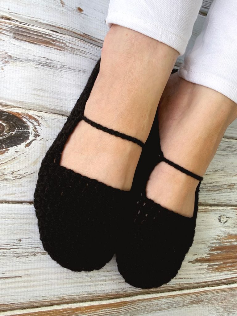 Perfect Crochet Ballet Slippers Free Crochet Pattern Love Life Yarn