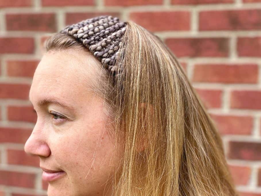 simple knit headband