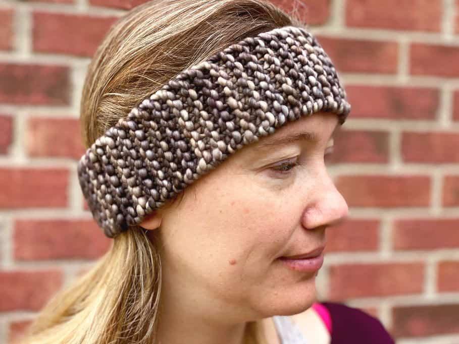 The Easiest Simple Knit Headband - love. life. yarn.
