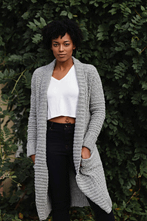 crochet sweater pattern for the sweater weather cardi