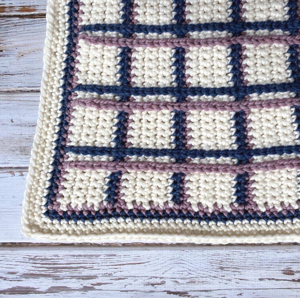 Tartan Plaid Baby Blanket