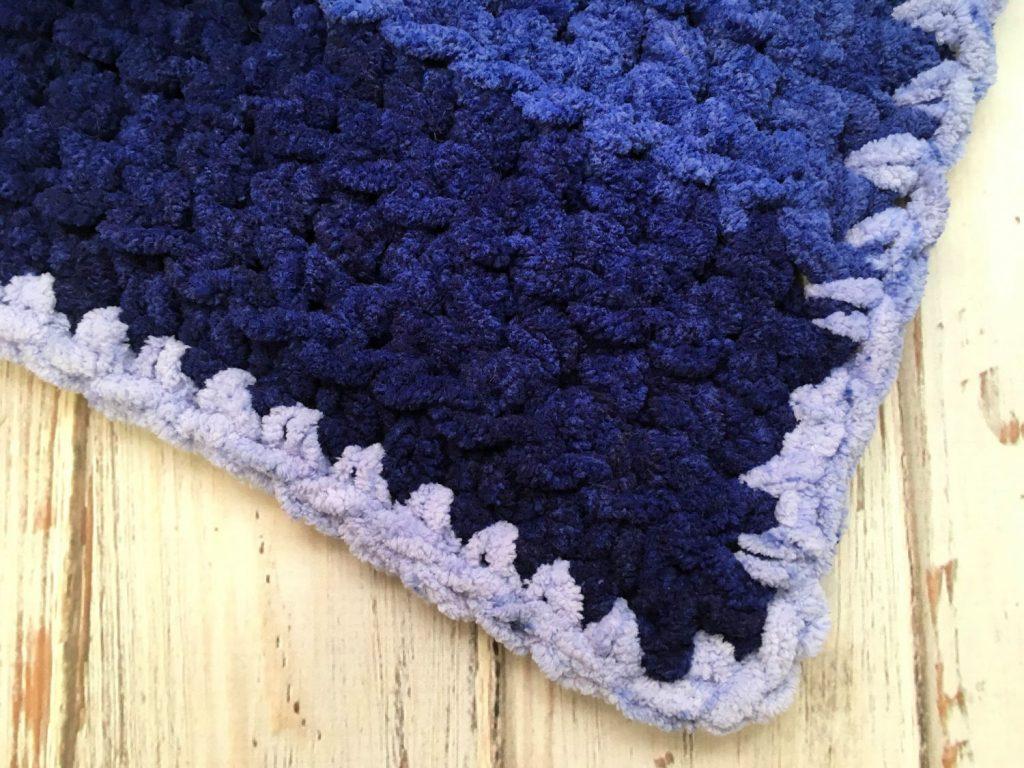 half double crochet baby blanket